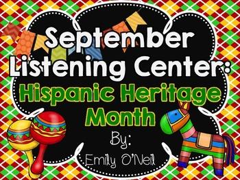 September Listening Center - Hispanic Heritage Month