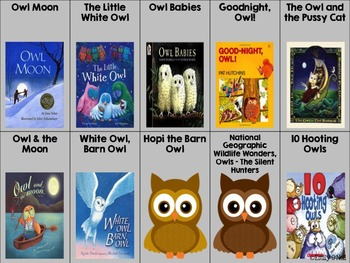 September Listening Center - Owls