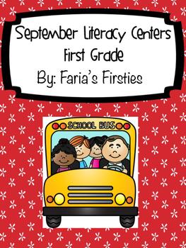 September Literacy Centers Bundle