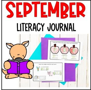 September Literacy Journal