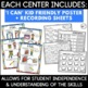 Back to School Literacy & Math Centers! (Bundled)