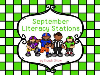 September Literacy Stations