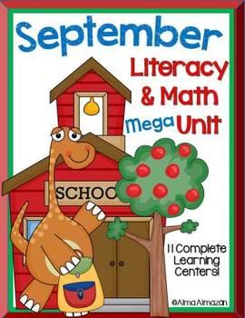 September Literacy and Math Mega Unit