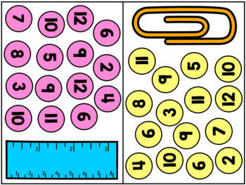 September / Back to School Math Centers