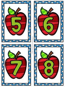 September Math Centers- Kindergarten