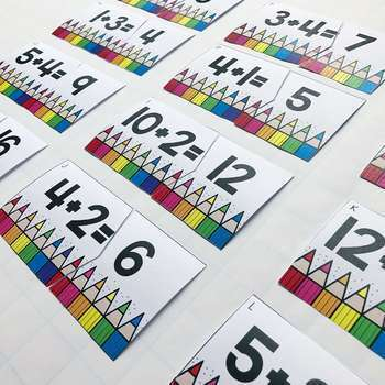 September Math Centers and Activities for 2nd Grade