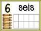 September Math Centers in Spanish