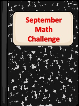 September Math Challenge