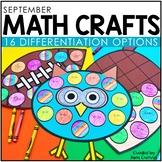 September Math Crafts