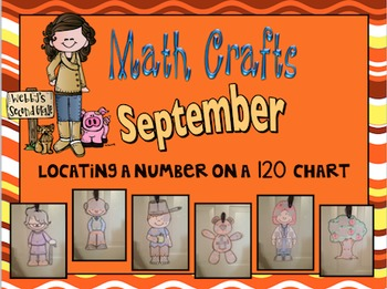 September Math Crafts Locating a Number on a 120 Chart