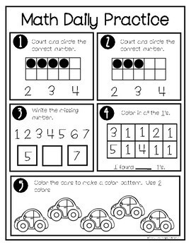 September Math Daily Practice