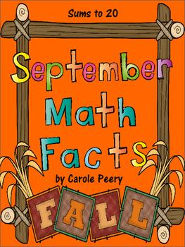 September Math Facts