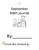 September Math Journal