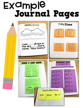 First Grade Math Journal Volume 1