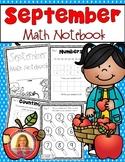 September Math Journal Notebook (Supplemental Math For The