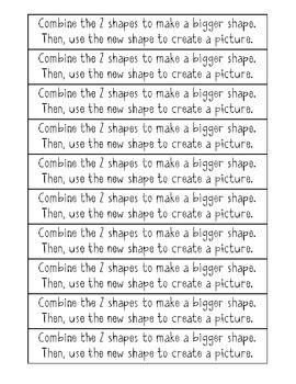 September Math Journal Prompts- Kindergarten C.C.