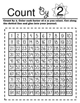 September Math Journal for Second Grade