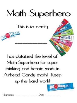 September Math Mat Collection:  ASSORTED FIVE PACK