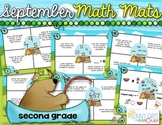 September Math Mats {second grade}