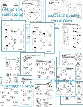 Second Grade Math Pack {September} NO PREP