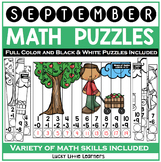 September Math Puzzles