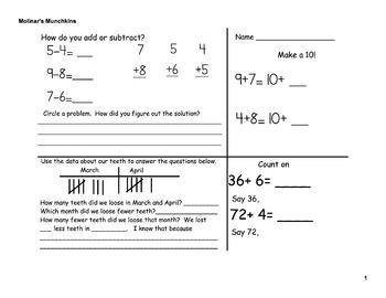 September Math Review First Week