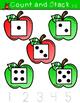 September Math Centers for Kindergarten  (Apple Theme)