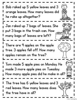 September Math Word Problems