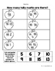 September Math Worksheets & Centers for First Grade (Engli