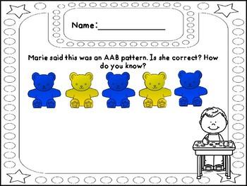 September Math Writing - Grade 1