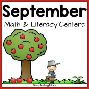 September Math and Literacy Activities Bundle
