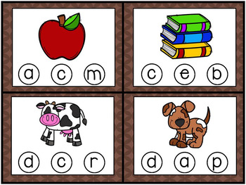 Fall Math and Literacy Center Tubs
