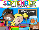 September Math and Literacy Centers {CCSS}