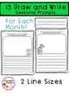 Monthly Journal Prompts & Writing Activities Bundle