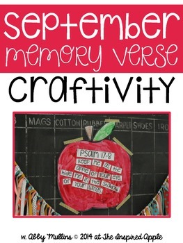 September Memory Verse and Craft