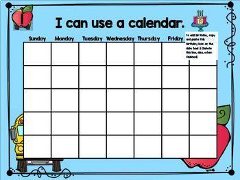 September Mimio Calendar