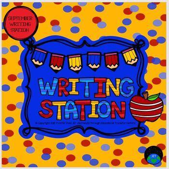 September Mini Writing Station