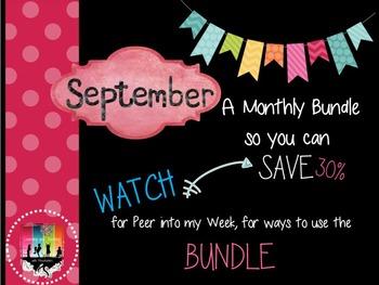 September Monthly Bundle Deal