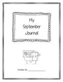 September Monthly Journal
