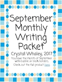 September Monthly Packet