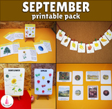 September Monthly Printable Packet