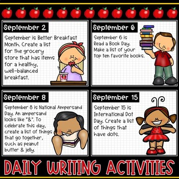 September Morning Activities