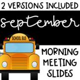 Social Distance   September Morning Meeting Slides