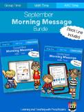 September Morning Message Bundle