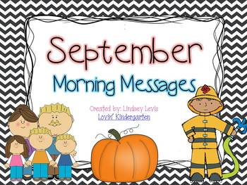 September  Morning Messages Bundle