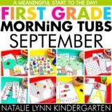 September Morning Tubs for 1st Grade