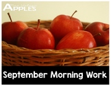 September Morning Work Editable