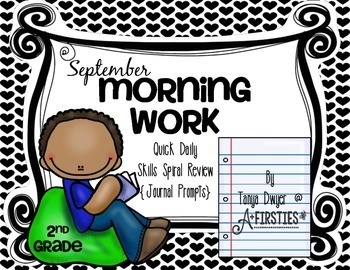 September Morning Work {Journal Prompts}