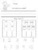 September Morning Work (Kindergarten) FREE Sample