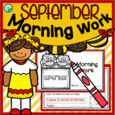 September Morning Work Quick Warm Ups